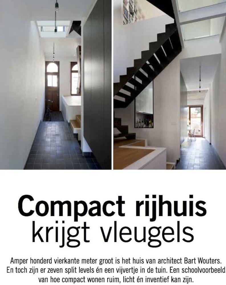 Smalle Woning Interieur Door Architects. Renovatie Van Een Smalle ...